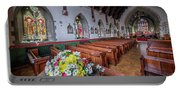 Christmas Church Flowers Portable Battery Charger