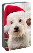 Christmas Elf Dog Portable Battery Charger