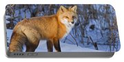 Christmas Fox Portable Battery Charger