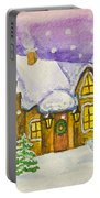 Christmas House Portable Battery Charger