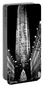Christmas In New York City Portable Battery Charger