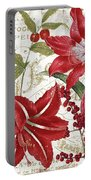 Christmas In Paris I Portable Battery Charger