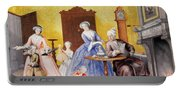 Christmas In The Royal Household Of Empress Maria Theresa Of Austria With Family Portable Battery Charger