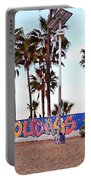 Christmas In Venice Beach Portable Battery Charger