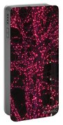 Christmas Lights 6th Ave 4 Abstract Portable Battery Charger