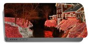 Christmas Lights At Clifton Mill Portable Battery Charger