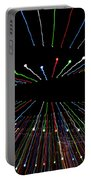 Christmas Lights Zoom Blur Portable Battery Charger