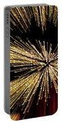 Christmas Lights Zoom Blur II Portable Battery Charger