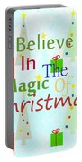 Christmas Magic Portable Battery Charger