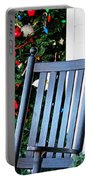 Christmas On The Porch Portable Battery Charger