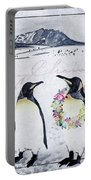 Christmas Penguins Portable Battery Charger