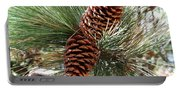 Christmas Pine Cones Portable Battery Charger