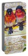 Christmas Postcard Portable Battery Charger