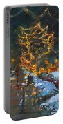 Christmas Reflections Portable Battery Charger