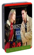 Christmas Ride Poster 16 Portable Battery Charger