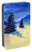 Christmas Snow Portable Battery Charger