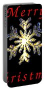 Christmas Snowflakes Portable Battery Charger