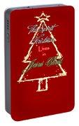 Christmas Spirit Portable Battery Charger