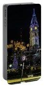 Christmas Village - Philadelphia Portable Battery Charger