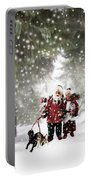 Christmas Walking Portable Battery Charger