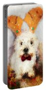 Christmas Westie Portable Battery Charger