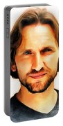 Christopher Eccleston Portable Battery Charger