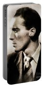 Christopher Lee, Vintage Actor Portable Battery Charger