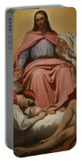 Christus Consolator Portable Battery Charger by Ary Scheffer