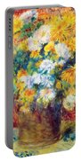 Chrysan The Mums 1882 Portable Battery Charger