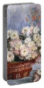 Chrysanthemums, 1878  Portable Battery Charger