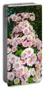 Chrysanths Portable Battery Charger