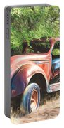 Chrysler Airflow Painterly Expression Portable Battery Charger