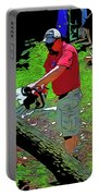 Chuck Chainsaw Portable Battery Charger