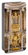 Church Altar Inside Palace Of Versailles Portable Battery Charger