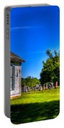 Church And Graveyard Portable Battery Charger