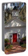 Church At Micanopy Portable Battery Charger