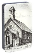 Church Bodie Ghost Town California Portable Battery Charger