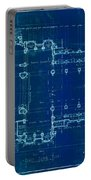 Church Floor Plan Portable Battery Charger