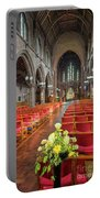 Church Flowers Portable Battery Charger