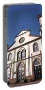 Church In Azores Islands Portable Battery Charger