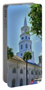 Church In Charleston Portable Battery Charger