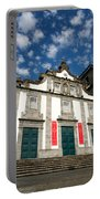 Church In Ribeira Grande Portable Battery Charger