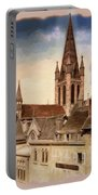 Church Of Notre-dame Of Dijon France - Remastered Portable Battery Charger