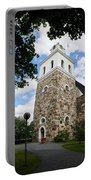 Church Of The Holy Cross At Rauma Portable Battery Charger