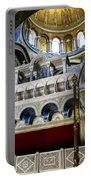 Church Of The Holy Sepulchre Interior Portable Battery Charger