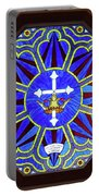 Church Of The Mediator Window Portable Battery Charger