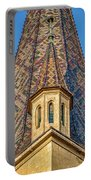 Church Spire Details - Romania Portable Battery Charger