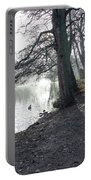 Churchyard Trees Portable Battery Charger