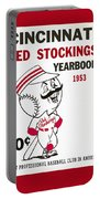 Cincinnati  Reds 1953 Yearbook Portable Battery Charger