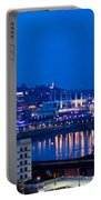 Cincinnati Skyline At Night Portable Battery Charger